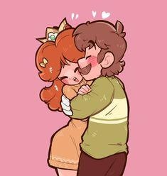 Super Mario Bros, Super Smash Bros Memes, Funny Mario Videos, Princesa Daisy, Luigi And Daisy, Mario Comics, Mario Fan Art, Nintendo Princess, Daisy Art