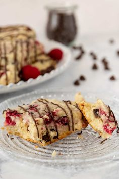 Fresh raspberry chocolate chip scones are a delicious treat to make for breakfast, brunch, or tea! Freezer friendly, and you can use fresh or frozen fruit in this easy scone recipe. * Recipe on GoodieGodmother.com #breakfastideas #bakingrecipes #scones #brunchfood #dessertrecipes #freezerfriendly #makeahead Oatmeal Scones, Mini Scones, Raspberry Chocolate, Chocolate Flavors, Raspberry Scones Recipe Easy, How To Make Scones, Baking Recipes, Dessert Recipes, Pig Roast