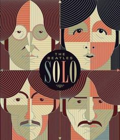 The Beatles Solo: Four Books in a Slipcase