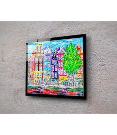 Print On Plexiglass Amsterdam PA.019 Amsterdam Souvenirs, Modern Art, Modern Design, Online Painting, Online Gallery, Design Art, Original Paintings, Display, Art Prints