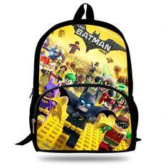 a763d985f8 Buy Newest 16 Inch Batman Cartoon Backpack For Children Pop surper man hero  movie printing School Bags Boys Girls Daily Bookbag