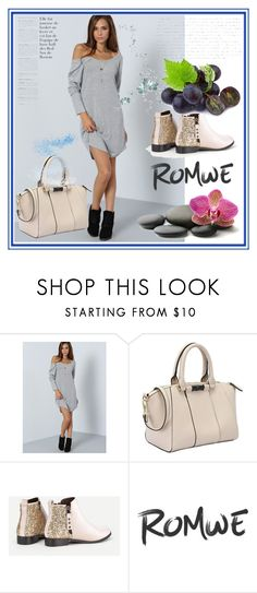 """Romwe 1"" by aida-1999 ❤ liked on Polyvore"