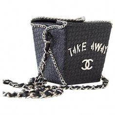 a8cf980712d3 Chanel Take Away Box Bag Rare Limited Edition Runway Shanghai Collection   Chanelhandbags Vintage Chanel Bag