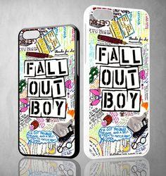 Fall Out Boy Lyric Drawings X1259 iPhone 4S 5S 5C 6 6Plus, iPod 4 5, LG G2 G3 Nexus 4 5, Sony Z2 Case