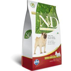 Ração ND Grain Free Frango para Cães Adultos de Raças Pequenas 2.5KG. #racaond #racaocachorro #racaoparacachorro #cachorro #filhode4patas #maedepet #maedecachorro #paidecachorro #petmeupet #petshop #petshoponline #desconto #promocao