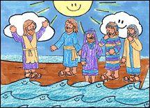 Jesus Calms the Storm Craft Sunday School Kids, Sunday School Crafts, Bible Lessons For Kids, Bible For Kids, Jesus Calms The Storm, Miracles Of Jesus, Boat Crafts, Children's Church Crafts, Teach Preschool