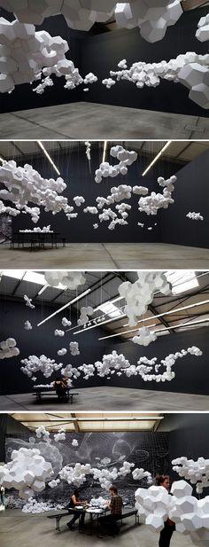 Cloudy House par Tomás Saraceno - Journal du Design