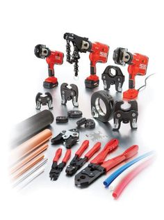 Ridge Tool is the world's technology leader for pressing equipment, making the high-performance RIDGID tools that drive the speed and reliability of pressed Copper, Stainless Steel and PEX Tubing connections.