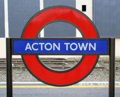 Acton Town London Underground Station in Acton, Greater London