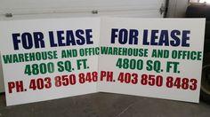 Do you need Coroplast signs? Call Wraptor Signs and Graphics! :) #coroplast #coroplastsigns #advertise #yycsigns #calgarysigns