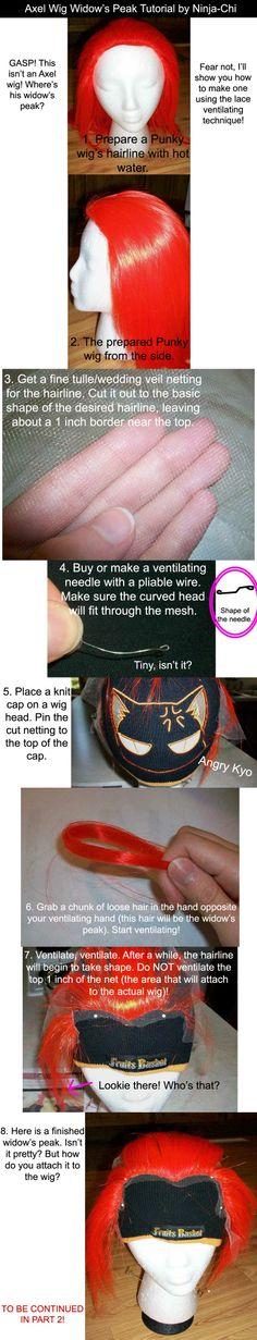 widow's peak tut #wigs