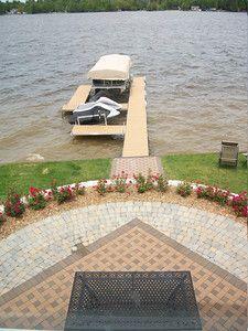 Landscaping- Brick patio   Wixom Lake - Rosemont Nursery