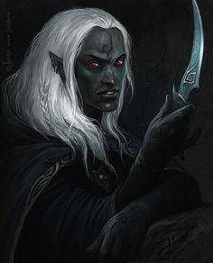 Drow by CG-Warrior on DeviantArt
