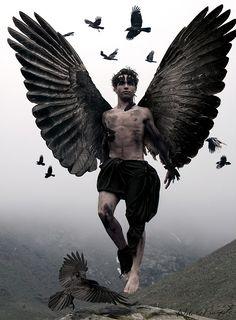 WOW!! CAW-Some!!! El hijo de Raven (Raven's son) by Noli &amp