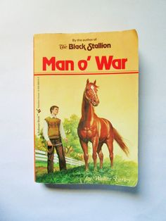 Man o' War, by Walter Farley. Historical Fiction Based on True Story; Vintage Published 1990. on Etsy, $6.76 CAD
