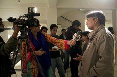 abdul jabbar gul art show at koel gallery, karachi #pakistan
