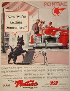 Pontiac ad year unknown.