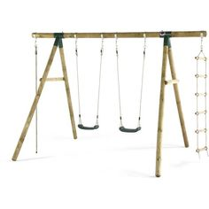 Order your Plum Gibbon Wooden Swing Set from Children's Furnitire Store. Free delivery on all our products. Order today!