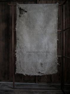 Antique Japanese Sashiko Folk Quilting Sheet
