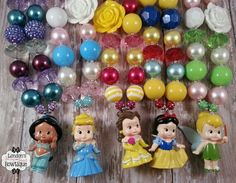 Princess chunky necklaces