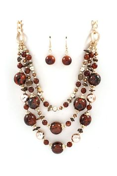 Nora Necklace Set on Emma Stine Limited