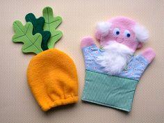 Благодаря постоянным заказчикам у меня периодически пополняется коллекция кукол-рукавичек для кукольного театра :) Иван да Марья, они же В...