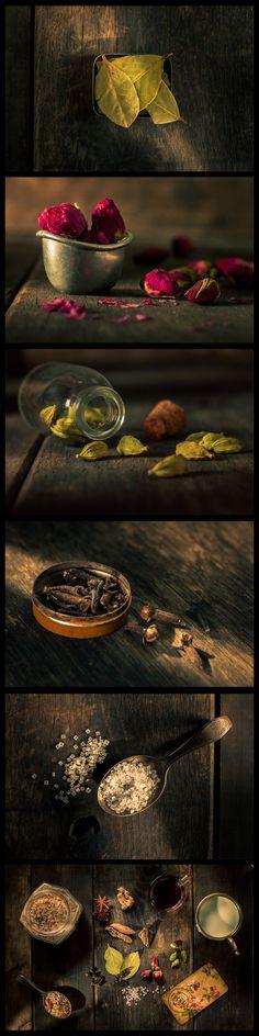 #macro #stilllife photography of Fuchsia's Spicy Chai Tea on Behance @juancven http://www.behance.net/gallery/Chai-Tea-for-Winter/12903511