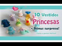 Vestidos Princesas 10 modelos + 2 modelos Bônus - YouTube