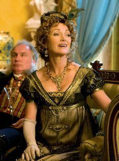Jane Seymour as Mrs. Wattlesbrook in Austeland (2013).
