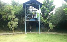 Tandem flying fox with my girl @ Jendela Alam