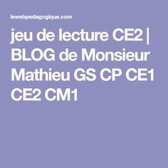 jeu de lecture CE2 | BLOG de Monsieur Mathieu GS CP CE1 CE2 CM1