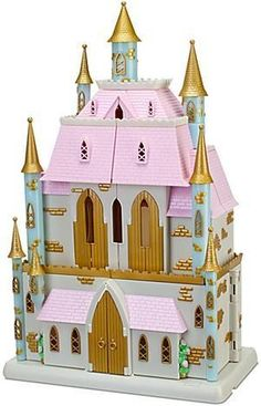 Disney Princess Magical Fairy tale Castle Play Set PVC Princesses Dolls in Toys & Hobbies, TV, Movie & Character Toys, Disney Cardboard Box Crafts, Cardboard Castle, Castle Dollhouse, Toy Castle, Dollhouse Ideas, Dollhouse Miniatures, Baby Girl Toys, Toys For Girls, Ancient History