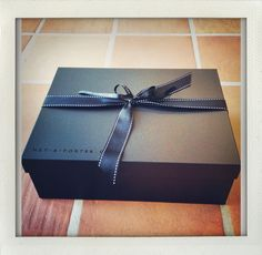 net-a-porter <3 | the black box that makes everything better!