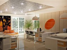 office-orange-white-table-desk-chair-pendant-lamp-partition-ceiling-granite-floor-decorating-room-ideas-decoration-workplace-contemporary-interior-design-modern-wall-rooms-decor-work.jpg (600×450)
