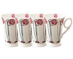 Charles Rennie Macintosh mugs