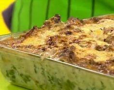 Exquisita lasaña de calabaza y espinaca con salsa de crema y champignones Spinach Recipes, Lasagna, Carne, Macaroni And Cheese, Ethnic Recipes, Food, Tagliatelle, Sauces, Ethnic Food
