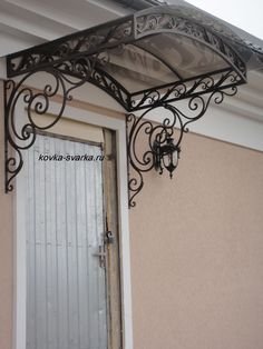 ???? ???????? ????????. Porch AwningDoor ... & IRON AND GLASS AWNING - Googleu0027da Ara | Marquises | Pinterest ...