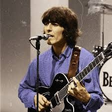 George Harrison in color