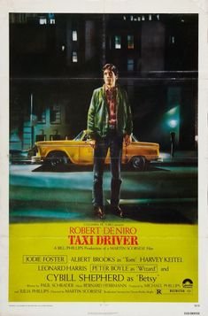 Taxi Driver. Critique of the lack of humanity and the sliver of hope fading away in a backdrop of reality. New York the heart of the U.S. after Vietnam. Guilt, shame, uncertainty, frustration? [1976]