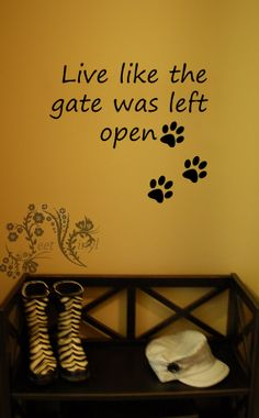 Above Patio Doors Vinyl Wall Decal Together Is The Best Place By - Custom vinyl wall decals dogs