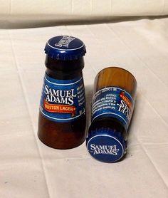 Beer Bottle Shot Glasses. Recycled Glass Bottles. Man Cave. For Him. on Etsy, $8.00