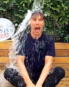 Benedict Cumberbatch Ice Bucket Challenge, Plus More Celebrities Join - Us Weekly This face tho! Ben Barnes, Sherlock Fandom, Sherlock Holmes, Lee Pace, Orlando Bloom, Keanu Reeves, Celebrity Crush, Celebrity News, Tom Hiddleston