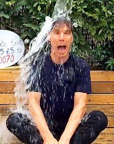 Benedict Cumberbatch Ice Bucket Challenge, Plus More Celebrities Join - Us Weekly