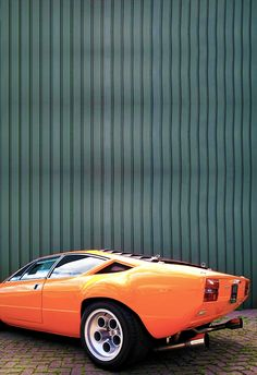 1974 Lamborghini Urraco Maintenance of old vehicles: the material for new cogs/casters/gears/pads could be cast polyamide which I (Cast polyamide) can produce