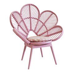 Pink love chair