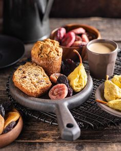 Our delicious good morning muffins are made with dried fruits for extra sweetness, texture and flavour! Muffins, Spices, Texture, Fruit, Breakfast, Sweet, Food, Surface Finish, Morning Coffee