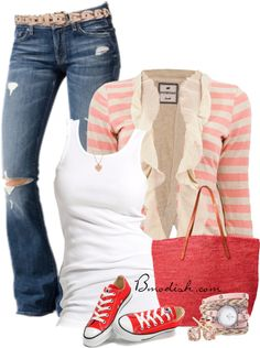 Thirty Adorable And Wonderful Outfit Combos From Polyvore For Everyday Use 10