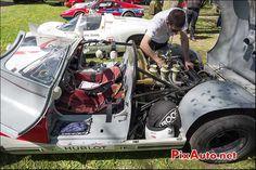 Porsche 910, n261, chateau Bannegon Tour Auto 2013