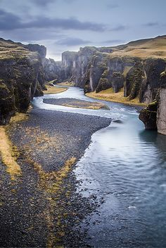 Fjaðrárgljúfur, Iceland. 22 AMAZING Photos Of Iceland! These photos will put Iceland at the top of your bucket list! Click through to read the full post!