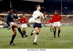 Soccer - World Cup England 1966 - Semi Final - Portugal v England - Stock Image
